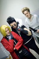 Edward, Greed and Dolcetto. by Kozekito