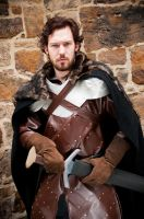 Robb Stark  - The Young Wolf by AzurBlueDragon