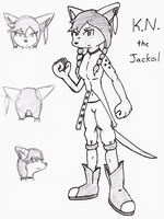 K.N. the Jackel by VedtheFlameDevil