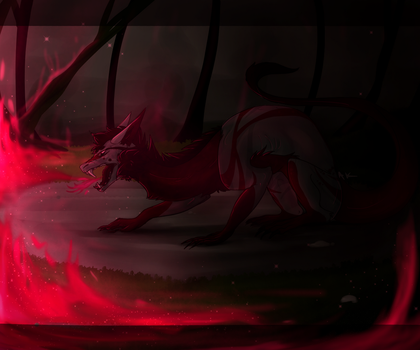 Even the Smallest Flame can Grow into a Wildfire by Akemi-Chann