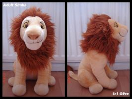 Simba Plush by OliveTree2