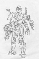 servitor_lineart by worgun-tyre