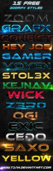 Zoomfx styles by t1na