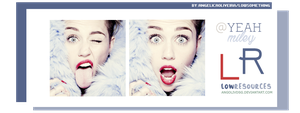 LOWRESOURCES@Yeah Miley ~by:AngOlivDsg by AngOlivDsg