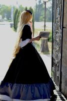 Victorique de Blouise: black dress by LisaVasya