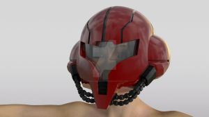Chozo Power Suit Helmet Complete by Pharaoh-Hamenthotep