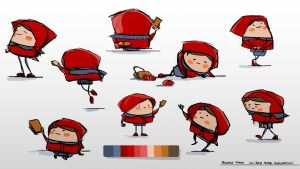 The Little Red Riding Hood by minifong