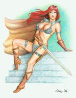 Red Sonja by Bugstomper86