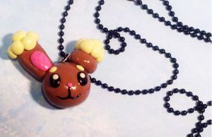 Buneary Necklace by MaryBunnie