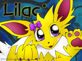 Lilac the Jolteon by OverTheLazyDog