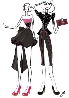 Project Runway Week 01 - Who are you? by grafik-fashion