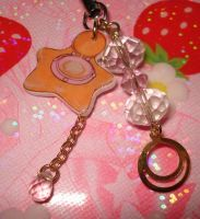 Phone Charm- Star Locket by honeyheavenly