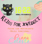 Reloj for xwidget by Serranista
