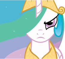 Princess Celestia Mad! by The3javi