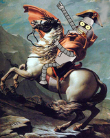 Bender is Napoleon by Vuzi