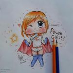 [AT] Power Girl! by haracchii