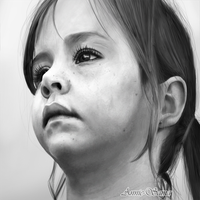 Child - photorealism by Annie-sama