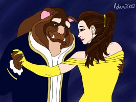 Happy 25th Anniversary - BEAUTY AND THE BEAST by Aden2002