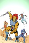Thundercats: Kirby-Style! by the-skeletal13
