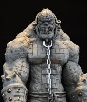 Batman Arkham Asylum Killer Croc Sculpt by AntWatkins