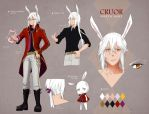 March - Character Sheet by Rosuuri