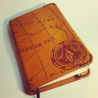Assassin's Creed Leather MoleSkin Cover by MerrillsLeather