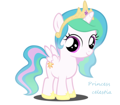 Baby- Princess celestia by DioxiB
