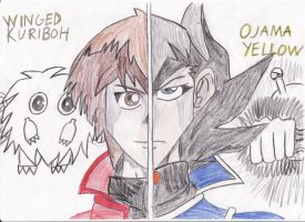 Yugioh GX Drawing by SmashBros2008