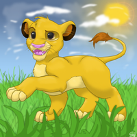 Simba by samanthacannon