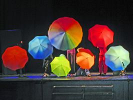 the umbrella , ( dix ans soleil rouge) by angeloup
