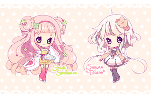 [CLOSED] ADOPT AUCTION - Sweet cupcakes by MiiaChuu