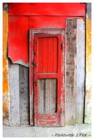 Knocking on Hell Door by Pinkturtle1974