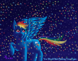 Would Not Believe Your Eyes by Lunafyre