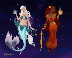 Zodiac Contest: Pisces and Leo by LadyYui