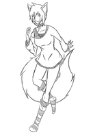 Sketch Commission - Rebi by Rt-001