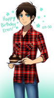 Happy Birthday Eren Jaeger~!! by Vhenyfire
