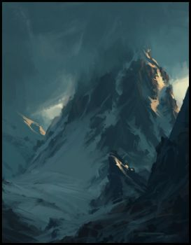 And the mountains blue by eeliskyttanen