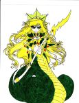 Slithice The Naga Siren by Graydrone