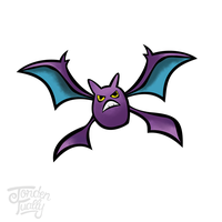 #169 Crobat (didnt really put in effort... sorry) by JordenTually