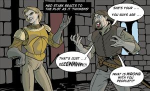 Game of Thrown by zeustoves