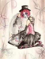 Mad Hatter - The Bell Jar by kurishina