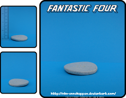 Fantastic 4 - the Invisible Woman chibi figure by Nko-ennekappao