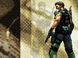 Chris Redfield: Confrontation by Daxtah
