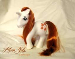 Custom G1 My Little Pony Autumn Gusty by SalliCostumer