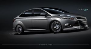 Ford Focus Luxury Sport Hybrid by Rotr8