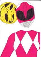 Mighty Morphin' Power Rangers 05 Pink Ver. 1 by SeptimusParker