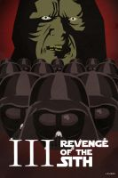 Revenge of the Sith Poster 02 by Loweak