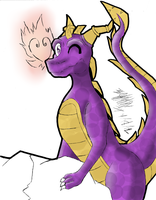 its just a purple dinosuar nothing to see here by II-KuroTheFox-II