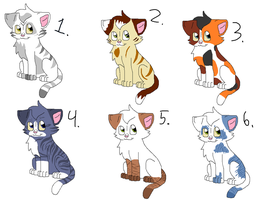 Leftover Adopts ALL GONE by nikkithedog3