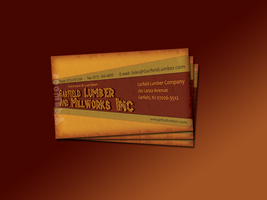 Garfield Lumber Business Card by Adamoos